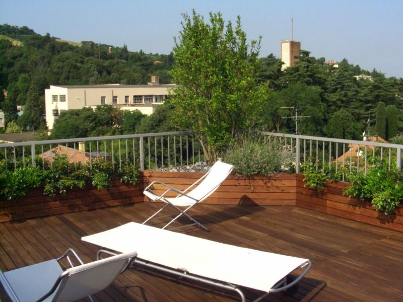 Realizzazione di terrazzi e verde pensile - Zanetti Piante